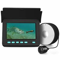 Portable Underwater Fishing Camera Fixed on Rod Underwater Video Fish