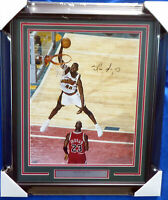 SHAWN KEMP AUTOGRAPHED SIGNED FRAMED 16X20 PHOTO SEATTLE SONICS MCS HOLO 174296
