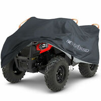 XXXL Black Quad ATV Cover Waterproof Storage For Polaris Sportsman 550 XP 570