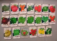 Wholesale Lot of 500 Old Vintage Vegetable SEED PACKETS - 20-35 cent - EMPTY