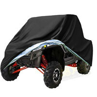 Side-by-Side Waterproof Utility Vehicle UTV Cover For Polaris RZR 570 800 900