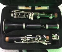 Buffet Crampon E11 Wood Clarinet Ser. 419000 Made In Germany Silver Plated Keys