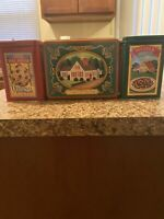 Vintage Nestle Toll House Advertisement Tins Lot of 4