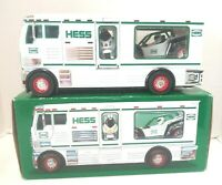 NIB Hess Toy Truck RV with ATV and Motorbike 2018(43270) With Lights