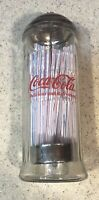 Coca Cola Straw Dispenser Diner Collection 1992 11 1 4 quot; Tall New