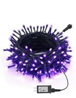 Joomer Purple Halloween Lights 66Ft 200LED Halloween String Lights with 8 Modes