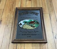 Vintage Southern Comfort Whiskey Mirror Advertising Sign England