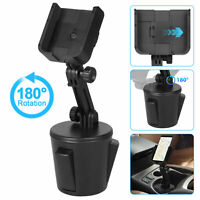Adjustable Car Cup Mount Cradle Holder for Cell Phone iPhone Samsung Universal $14.98