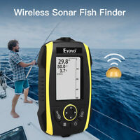 2.4 Inch Wireless Sonar Sunlight Readable Fish Finder 125KHz for Lake Portable