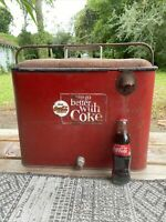 1963 1969 Vintage Coca Cola Cooler...Things go better with a Coke