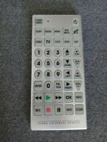 Tested 10quot;JUMBO UNIVERSAL REMOTE TV VCR DVD CABLE CONTROL cant loose Easy to see $9.50