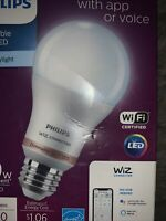 Philips Smart Wi Fi LED Dimmable Daylight Wiz Connected 8.8W 60W. **BRAND NEW** $23.50