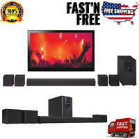 Home Theater System 32quot; Bluetooth Surround Sound 5.1 Channel Music Compact NEW $79.99