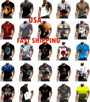 Mens T Shirt Graphic Short Sleeve Fitness T Shirt Vintage Sports Wear Casual Tee