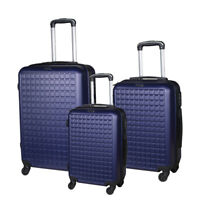 3 Piece Luggage Set Suitcase with Spinner Wheels Lightweight Luggage 20quot; 24quot; 28quot;