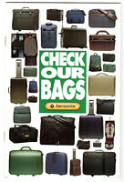 Vintage 1994 Samsonite Luggage Product Line Brochure Features Specifications