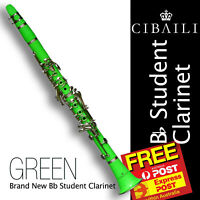 Bb PINK CIBAILI CLARINET • BRAND NEW •  With Reeds, Case and Warranty •