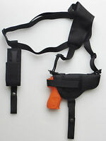 Gun Shoulder Holster for WALTHER PPQ with Extra Magazine Pouch