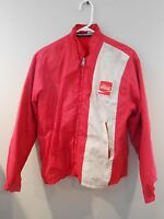 Vintage Louisville Sportwear Coke Coca Cola Jacket Size M With Zip Out Lining
