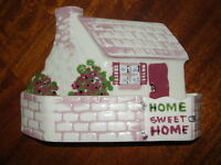 Vintage Cleminsons California Home Sweet Home Wall Pocket