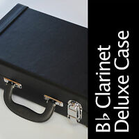 Bb CLARINET CASE • Deluxe Clarinet Hard Case • Brand New • GREAT QUALITY •
