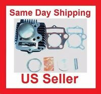 52.4mm Cylinder kit 110cc 90cc 125cc Engine Parts Kazuma Redcat Taotao ATV Bike