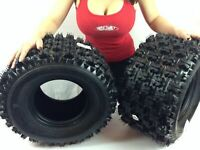 TWO 20x11-9 NEW ATV TIRES (PAIR) Yamaha Raptor 660 700 4 PLY