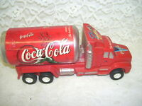 Coca-Cola Toy Truck with Soda Can Back End