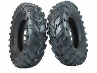 (2) New 6 Ply MASSFX 25x8-12 Front Tire set Atv Tires 25