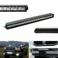 21-Inch 100W CREE Single-Row Slim LED Light Bar For Truck Jeep Off-Road 4x4 ATV