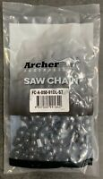 28quot; Archer Chainsaw Chain 3 8quot; pitch FULL CHISEL SKIP TOOTH .050 Gauge 91DL