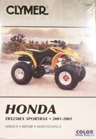 Honda TRX 250EX, 2001-2005, Clymer Shop / Repair Manual