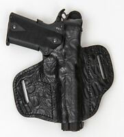 On Duty Conceal RH LH OWB Leather Gun Holster For HK USP Full Size 9 40 45
