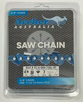 20quot; Archer Chainsaw Chain 3 8quot; pitch FULL CHISEL SKIP TOOTH .050 Gauge 72DL