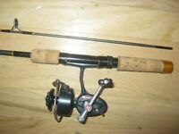 Garcia Conalon  5.5 ft rod with cork handle + Mitchell 408 reel - price reduced