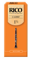 Rico Eb Clarinet Reeds Unfiled (Previous Packaging) - 25 Per Box