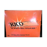 Rico Alto Clarinet Reeds (Previous Packaging) - 25 Per Box