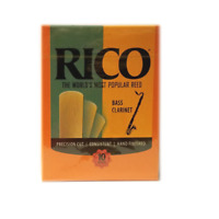 Rico Bass Clarinet Reeds #1.5 (Previous Packaging) - 10 Per Box
