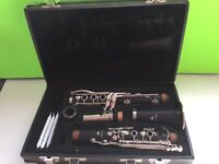 Leblanc Noblet 4 Wooden Clarinet Used With Case and New Reeds