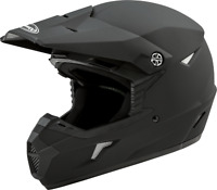 Gmax MX46 Solid Motorcycle ATV KIDS Helmet / Flat Black - All YOUTH Sizes