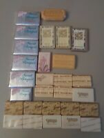 28 bars Vintage hotel motel travel soaps Sweetheart Aramis Leisure Sweet Bouquet