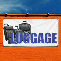 Vinyl Banner Sign Luggage Business Business Outdoor Marketing Advertising Blue
