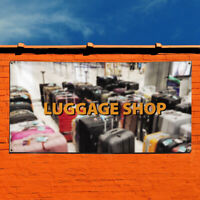 Vinyl Banner Sign Luggage Shop Business Outdoor Marketing Advertising White