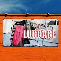 Vinyl Banner Sign Luggage #1  Style A Business Marketing Advertising White
