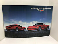 GM Chevrolet Dealership Showroom Poster - 2005 Chevrolet Corvette