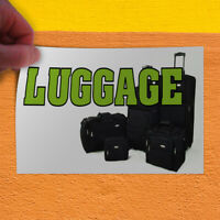 Decal Sticker Luggage #1 Business Attache Case Outdoor Store Sign Green