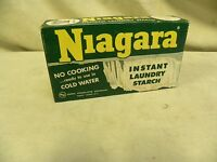 Vintage Corn Products Co. Niagara Instant Laundry Starch Advertising Box (A5)