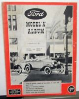 Ford Model A Album Pictorial History Book By Floyd Clymer Photos Data Info More