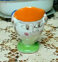 Picasso Style Desimone Italy Vintage Italian Art Pottery 60s Egg Cup