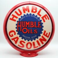 Humble Gasoline Gas Pump Globe